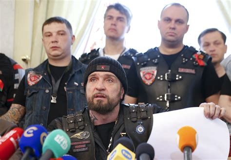 Russia's 'Night Wolves' Bikers To Continue WWII Trip