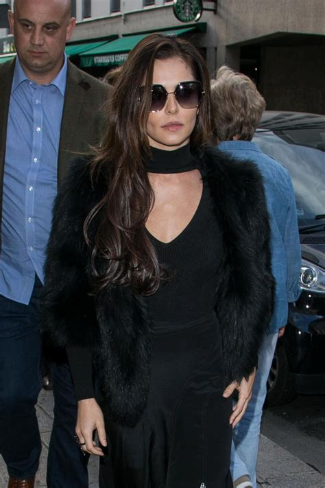 CHERYL COLE Out and About in Paris 09/30/2017 - HawtCelebs