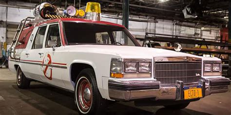Ghostbusters Movie Car 1989 Cadillac Brougham   GM Authority