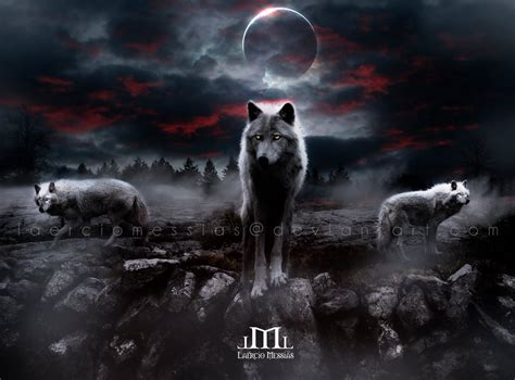 Night Wolves by LaercioMessias on DeviantArt