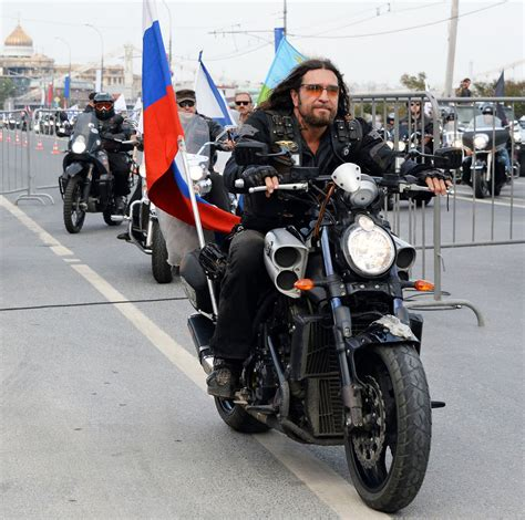 Moscow's Night Wolves bikers are rebels with a cause