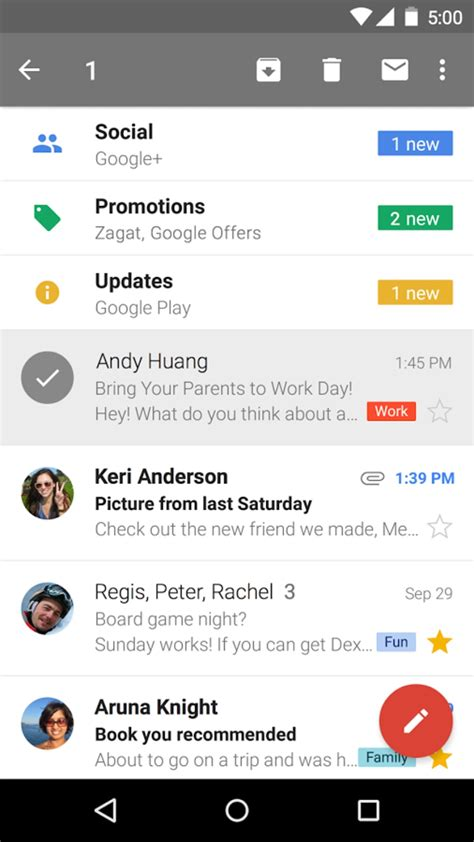 Gmail for Android - Download